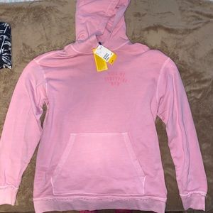 Pink H&M's oversized hoodie